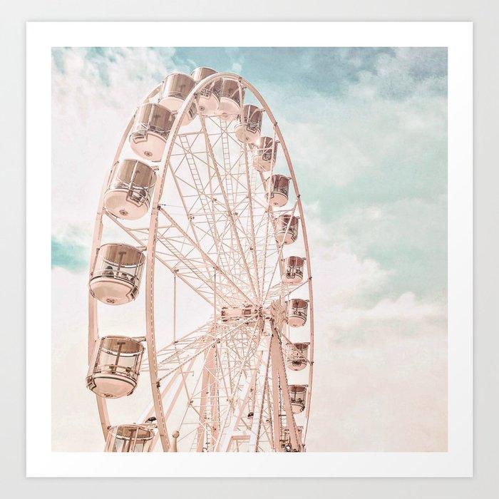 Ferris Wheel Kunstdrucke