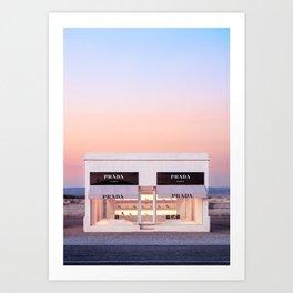 Marfa Art Print