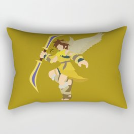 Pit(Smash)Gold Rectangular Pillow