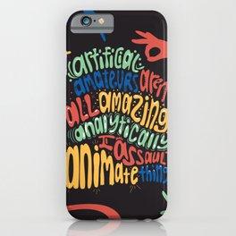 Alphabet Aerobics, Blackalicious iPhone Case