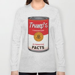 Trump's Canned Goods Long Sleeve T-shirt
