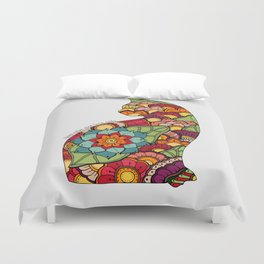 Keep calm and love cats Duvet Cover