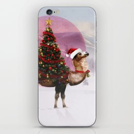 Santa Camel iPhone Skin