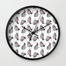 Iguazu Butterflies Wall Clock