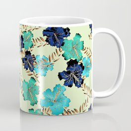Multicolor elegant floral texture Coffee Mug