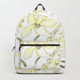 Floral Pattern Agrimony Backpack