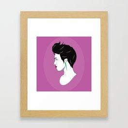 BianCamée Rose Framed Art Print