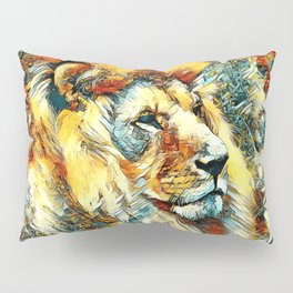 AnimalArt_Lion_20171001_by_JAMColorsSpecial Pillow Sham