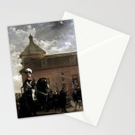 Diego Velázquez - Prince Baltasar Carlos with the Count-Duke of Olivares at the Royal Mews Stationery Cards