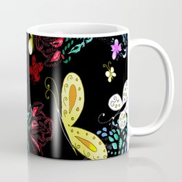 Mystic Butterfly Garden Coffee Mug