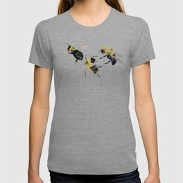 Water colour bees T-shirt