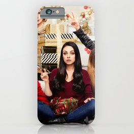 A Bad Moms Christmas 4k 2017 movie thriller Kristen Bell Cheryl Hines Christine Baranski Mila Kunis  iPhone Case