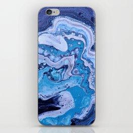 Blue Strike iPhone Skin