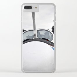 Up Close and Personal Clear iPhone Case