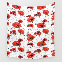 Poppin' Poppies Wall Tapestry