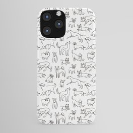 Dogs fun iPhone Case