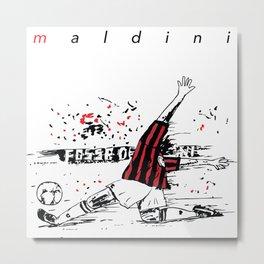 Maldini Metal Print