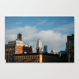 The Empire State Building from the Highline Canvas Print