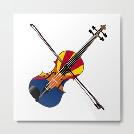 Arizona Fiddle Metal Print