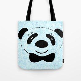 zoomed panda Tote Bag