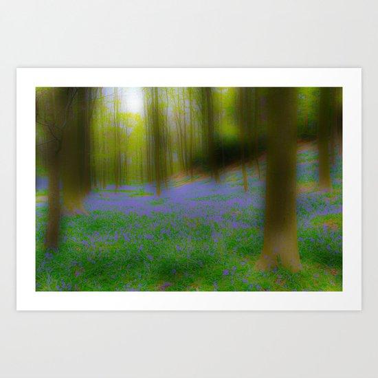 Bois de Halle in a Dream Art Print