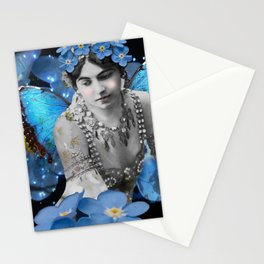 Tangled Up In Blue Stationery Cards