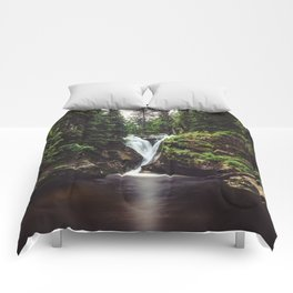 Pure Water - Landscape and Nature Photography Comforters
