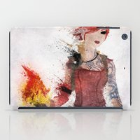 borderlands iPad Cases featuring Lilith by Melissa Smith