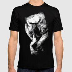 The Werewolf Mens Fitted Tee MEDIUM Black