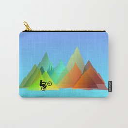 MTB Moutains Colors Carry-All Pouch