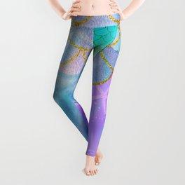 Mermaid Iridescent Shimmer Leggings