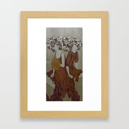 Everybody knows us Framed Art Print