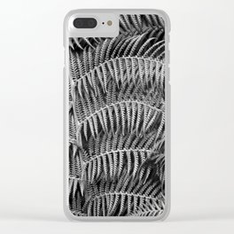 Darkness falls in the forest Clear iPhone Case