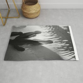 Monochrome SoCal Shadows Rug