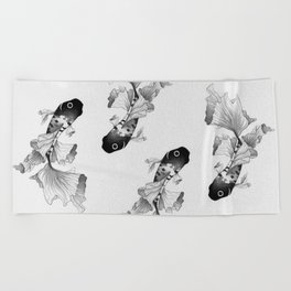 Betta Fish Beach Towel