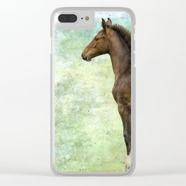 Bred for Beauty lt Clear iPhone Case