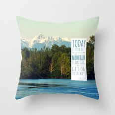 Get On Your Way! Throw Pillow