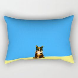 Blue Marmalade Rectangular Pillow
