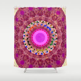 Flowers in Glass Two Shower Curtain