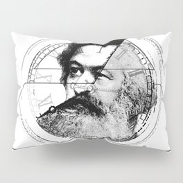 The Time of Marx Pillow Sham
