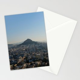 Morning View from the Parthenon I Athens, Greece I Travel Photography Stationery Cards