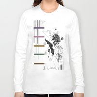 alchemy Long Sleeve T-shirts featuring Floral Alchemy  by Forrest Wright