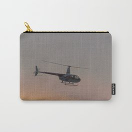 Helicopter At Sunset Carry-All Pouch