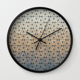 Sunset Hills Geometric Wall Clock