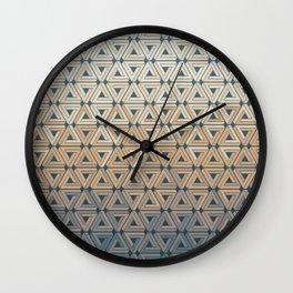 Sunset Hills Geometric Wall Clock