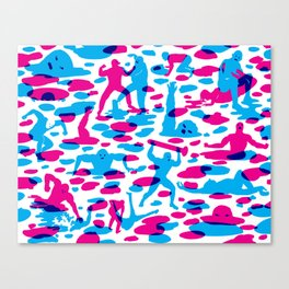 Acids vs. Bases Canvas Print