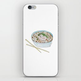 U is for Udon Soup iPhone Skin