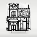 Old Victorian House - black & white by xooxoo