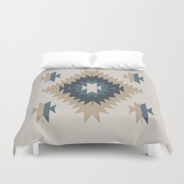Santa Fe Southwest Native American Indian Tribal Geometric Pattern Duvet Cover