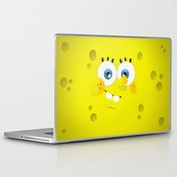 spongebob Laptop & iPad Skins featuring SpongeBob by solostudio